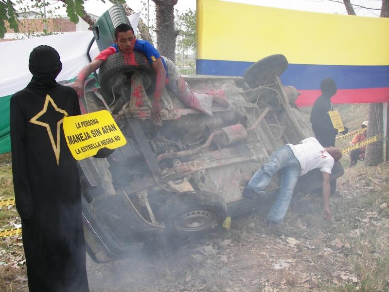 18 personas murieron en accidentes de tr�nsito en Arauca en los cinco primeros meses de 2012