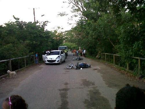 Una persona muerta y otra herida en accidente de tr�nsito en Arauca