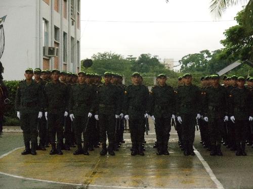 Juraron bandera los 50 j�venes que actuar�n en Arauca como auxiliares bachilleres
